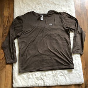 The North Face fleece lined long sleeve size XL